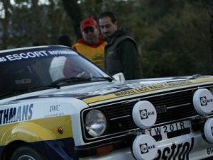 Dario Alitto giudice di gara automobilistica